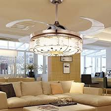 ceiling fans with lights for bedrooms. colorled invisible ceiling fans living room remote control fan lights bedroom simple modern retractable belt led with for bedrooms f