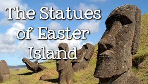 mysterious moai the giant heads of easter island for kids freeschool you