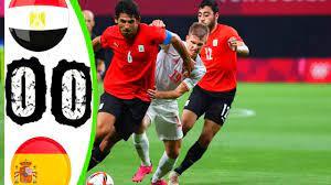 ملخص تحليلي مباراة مصر واسبانيا 0-0 اولمبياد طوكيو 2020 - YouTube