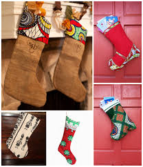 Handmade Christmas Stockings An African Inspired Christmas Afro Meets Euro
