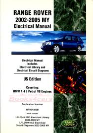 land rover shop service manuals at books4cars com 02 05 range rover electrical wiring shop manual by land rover b035 rr2aem