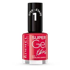 Kosmetika Rimmel Super Gel Nail Polish By Kate Lak Na Nehty 12 Ml