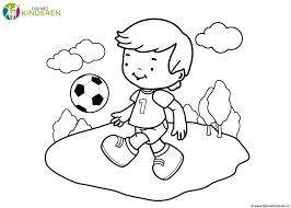 Kleurplaat Baby Jongen Hard Kleurplaat Voetbal 28 Leukste Voetbal In