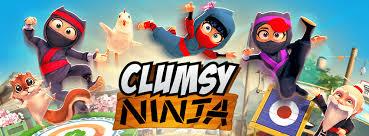 Risultati immagini per clumsy ninja