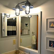 vanity lighting ideas. Nautical-boys-bathroom- Vanity Lighting Ideas I