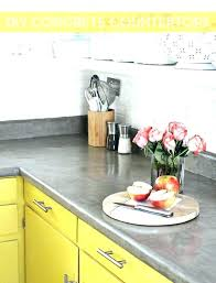 diy concrete countertops over laminate concrete