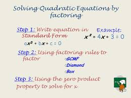 2 solving quadratic equations