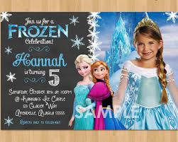 make your own frozen invitations frozen invitation design czeckitout
