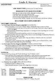 Free Sample Resume For Customer Service Representative inside ucwords] ...