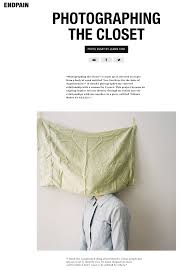 """news jeanie choi  photographing the closet"""" is made up of selected excerpts from a body of work"""