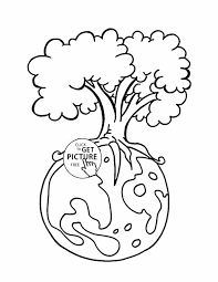 Small Picture Page For Kids Pages Printables Middle School Earth Earth Day