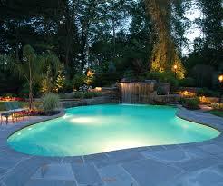 pool deck lighting ideas. Inground Swimming Pool Deck Backlight Lighting Ideas