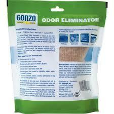 Gonzo  Oz Odor Eliminator Decorative Series Burlap Bag - Best bathroom odor eliminator