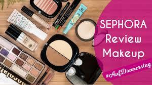 sephora deutschland review torial makeup schminken bewerten letsplaymakeup aufdonners