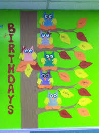 My Toddler Preschool Classroom Birthdays For Babies Owls