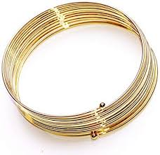 NEW <b>BOHO FASHIONABLE GOLD</b> WIRE HIPPY SPIRAL WRAP ...