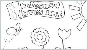 Jesus Loves Me Coloring Page Pdf Christ You Sheets Good Pages Owl
