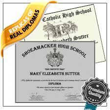 Replica High School Diplomas