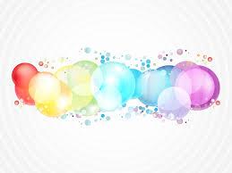 Rainbow Color Bubbles Vector Art & Graphics | freevector.com