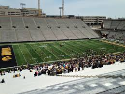 Kinnick Stadium Rows Seating Chart Kinnick Stadium Section 130 Rateyourseats Com