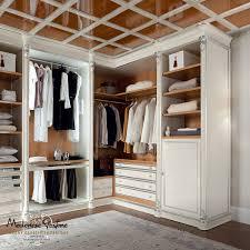 corner walk in wardrobe traditional wooden bella vita