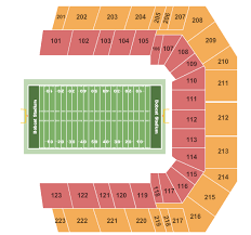 Bobcat Stadium Seating Chart Tu Stadium Seating Richard Artasia Tk