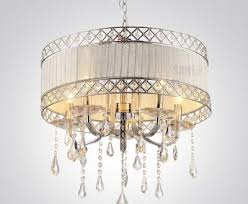 wonderful home interior modern crystal chandelier with drum shade at chandeliers shades of light crystal
