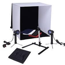 mini photo studio portable stand soft box light tent lighting kit cube