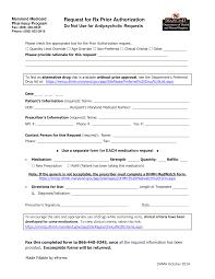 Fax Form Pdf Free Maryland Medicaid Prior Rx Authorization Form Pdf