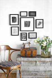 Small Picture One wall one set of frames multiple looks frames walls