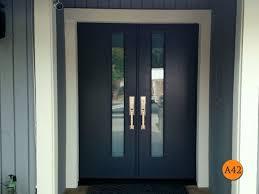 white double front door. Modern 60\ White Double Front Door M