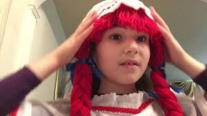 raggedy ann doll makeup tutorial