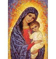 ICONE VIERGE MARIE ET SON ENFANT - EDITIONS RESIAC