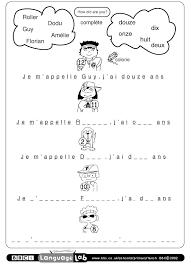 Stupendous Printable French Worksheets Davezan Valentine Love ...