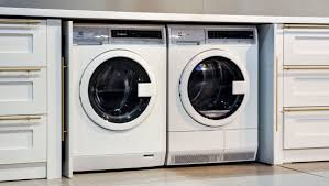 Under counter washer dryer Bosch Ventless Stackable And Efficient You Can Even Tuck This Spacesaving Duo Beneath Your Kitchen Counter Pinterest Electrolux Compact Washer And Ventless Dryer First Impressions