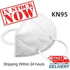 <b>10pcs KN95</b> Nonwoven Face Dust Mask <b>N95</b> Mask 5-Ply Safety ...