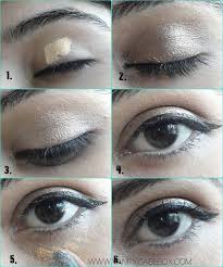 tightline applying kohl on your upper water line your eyes and apply primer in case you how to do makeup really good