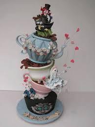 Mad Hatter Cake Designs Alice In Wonderland Party Ideas Mad Hatter Cake Alice In