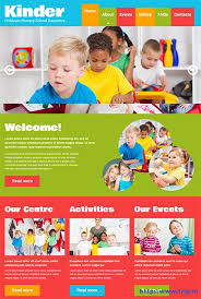 Kids School Website Template 20 Best Kids Website Templates 2019 Funky Sites Designs