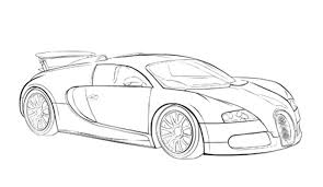 Small Picture Car Sport Bugatti Veyron Coloring Page Bugatti Pinterest