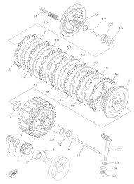 2015 yamaha yz85 yz85f clutch parts best oem clutch parts diagram rh bikebandit rm 85 ktm 500