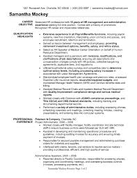 Cover Letter Templates Facilities Management