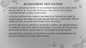 Motivation And Motivation Theories In Sports Delectable Sports Success Motivations
