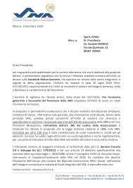 Milano, 9 dicembre 2020 Spett. IVASS Alla c.a. Ill. Presidente Dr. Daniele  FRANCO Via del Quirinale, 21 00187 ROMA Ill.mo