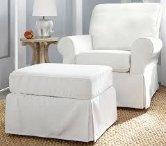white nursery glider and ottoman thenurseries
