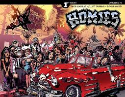 Homie Vending Machine Beauteous Homies And Creator David Gonzales Hit Comics Shops This Fall