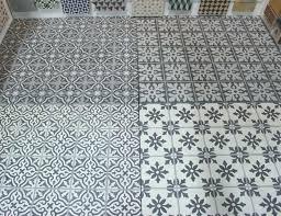 patterned linoleum flooring cement tile floor funky lino flooring