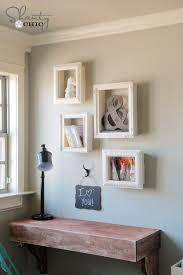 Picture Frame Box Diy Frame Shelves Shanty 2 Chic
