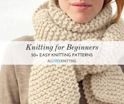 Beginner Knitting Patterns Cool Knitting For Beginners 48 Easy Knitting Patterns AllFreeKnitting