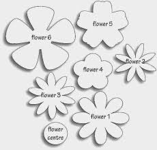 Paper Flower Templates Free Download Paper Flower Templates Free Download Yolarcinetonic Peoplewho Us